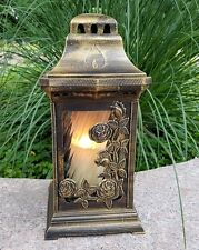 Grablaterne Grablampe Lampe Teelicht Grableuchte Granit Grablicht Kerze Engel