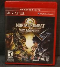 Mortal Kombat vs. DC Universe (Sony PlayStation 3, 2008) PS3 Video Game