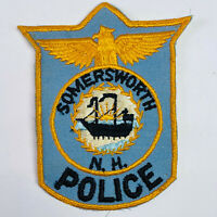 Somersworth Police New Hampshire Patch (B)