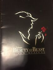 SIGNED Beauty and the Beast Orig. Broadway Souvenir Prog. Signed By Susan Egan+