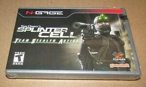 Splinter Cell Team Stealth Action (N-Gage) Brand New / Fast Shipping