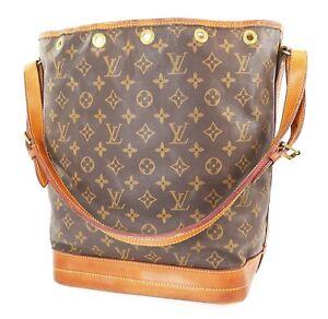 Authentic LOUIS VUITTON Noe Monogram Shoulder Tote Bag Purse #38547