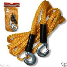 HEAVY DUTY TOW ROPE TOWING ATV TOWING TRUCK CAR PULL 12 ft