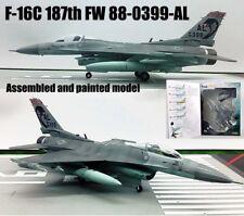 US F-16C Fighting Falcon 187th FW 88-0399-AL 1/72 diecast plane Easy model