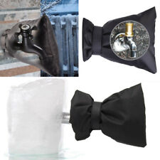 Outdoor Faucet Covers for Winter Freeze Protection Flexible Faucet Sock Black US