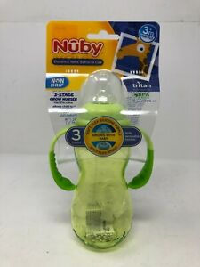 Nuby Standard Neck to Bottle Cup 3 stage Nipple to Spout to Cup 10 oz.