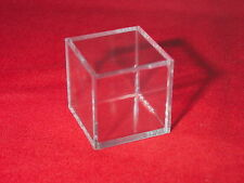 3 Stackable Display Cube Holder Case For Mineral Minerals Rocks