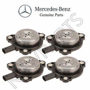 For Mercedes CLS550 E63 AMG GL450 Set of 4 Camshaft Adjuster Magnet Genuine