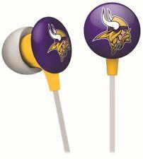 *BRAND NEW* Minnesota Vikings NFL Logo Mascot iHip Ear buds Earphones iPhone iPo