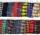 Scottish Men All Kilts 8 yard Tartan Kilts Traditional Highland Dress 13oz Kilt