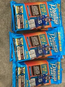 Panini 2021 Prestige NFL Cello Pack Factory Sealed Sun Burst Exclusives Lot of 2