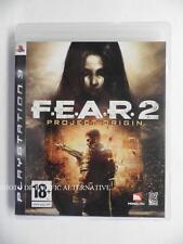 jeu FEAR 2 Project Origin sur PS3 playstation 3 en francais spiel juego game TBE