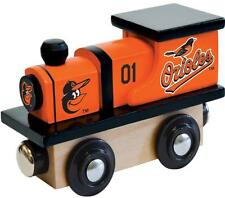 Baltimore Orioles Wooden Toy Train [NEW] MLB Wood Christmas Kids Boys Gift Set