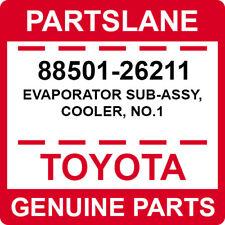 88501-26211 Toyota OEM Genuine EVAPORATOR SUB-ASSY, COOLER, NO.1