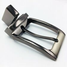 Leathercraft Diy Hardware 3 Reversible Belt Buckles Brushed Nickel Gunmetal 30mm