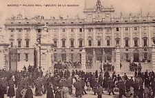 ESPAGNE - MADRID - PALACIO REAL - RELEVO DE LA GUARDIA.