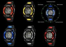 Men's/Boys Multi-Function SYNOKE® Alarm Stopwatch LCD Chronograph Sports Watch