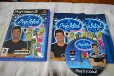 Pop Idol (Official Video Game) - PS2 (Tested Complete PAL)