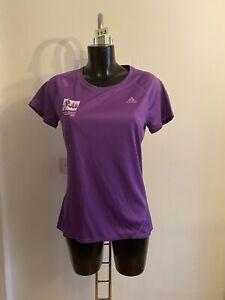 Adidas Running Climalite ladies marathon 2014 top size M Uk 12-14