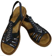 Rieker Sandalen und Badeschuhe ohne Muster für Damen