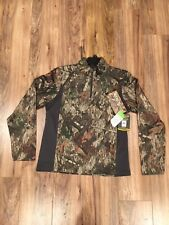 NWT Browning Large (L) A-TACS Camo Pullover 1/4 Zip