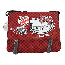 Hello Kitty Vicky Borsa a Tracolla Spalla Cartella Donna Bambina Scuola