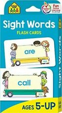 School Zone - Sight Words Flash Cards - Ages 5 and Up, Kindergarten to 1st...