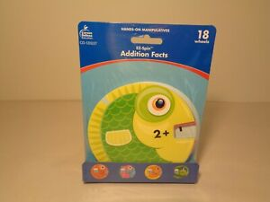EZ-Spin ADDITION FACTS HANDS ON MANIPULATIVES New Math Wheels