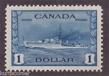 Canada Scott #262 Destroyer Stamp Top Value in Set Mint Never Hinged OG