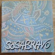 """ART CATALOG """"SOSABRAVO PREMIO NACIONAL DE ARTES"""" ALFREDO SOSABRAVO CUBA =SIGNED="""