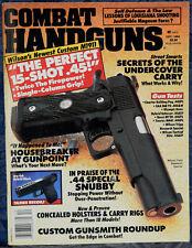 Magazine COMBAT HANDGUNS December 1993 EAA FAB 92 .40 S&W, Broomhandle MAUSER