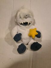 1998 Stuffins Rudolph Island Misfit Toys Bumbles Abominable Snowman Plush Star