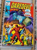 Daredevil #71 (Dec 1970, Marvel)  F+-VF