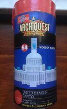 Archiquest United States Captiol 54 Precision Cut Wooden Blocks New!