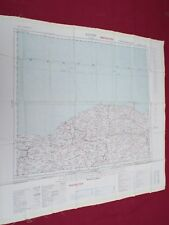 """COLD WAR PERIOD RAF """"SILK""""  ESCAPE AND EVASION MAP OF THE MIDDLE EAST  1953"""