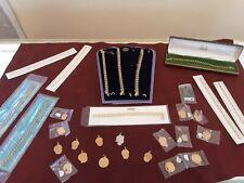 RARE Vintage 12K Gold Filled Charm & Charm Bracelet Lot NEW Never Worn #K10