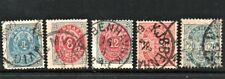 Denmark  Lot of 5 early stamps