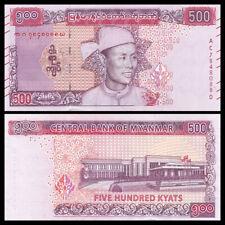 Myanmar 500 Kyats, 2020, P-New, New Design, Banknote, UNC