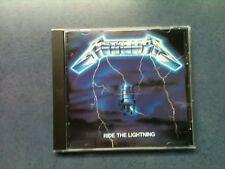 Metallica - Ride The Lightning - CD 1989 / TOP - ZUSTAND !!! SELTEN - RAR