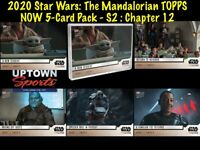 🚀 2020 Star Wars: The Mandalorian TOPPS NOW® 5-Card Pack - S2 : Chapter 12