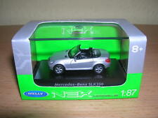 Welly Mercedes-Benz SLK350 SLK 350 silber metallic Metall, 1:87 H0