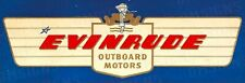 Evinrude Motors Ad Metal Sign FREE SHIPPING Vintage Boat Cabin Decor