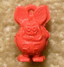"""Vintage Red Rat Fink Miniature 1"""" Figure Toy Charm Gumball Machine Prize"""