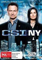 CSI NY : Season 8 (DVD, 5-Disc Set) NEW