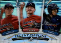 2018 Bowman Talent Pipeline Baseball Insert Singles (Pick Your Cards)