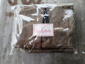 Ann Gish Quarry King Bed Skirt in Jasper - New