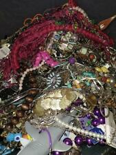 Huge 100 Pc Lot of Vintage Modern Costume Jewelry