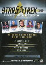 Star Trek 50th Anniversary [2017] Promo Card P4 Convention