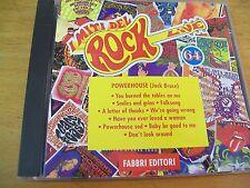 POWERHOUSE (JACK BRUCE)  I MITI DEL ROCK N 64 CD MINT--- FABBRI