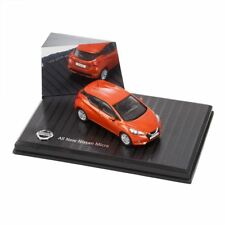 Genuine Orange Nissan Micra 1:43 Scale Model 2017